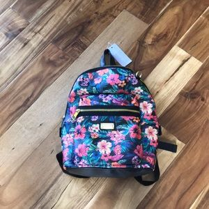 Madden Girl Floral Backpack NWT